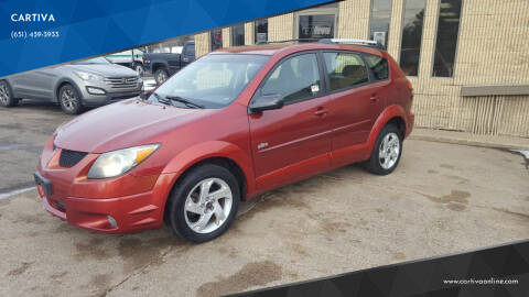 2004 Pontiac Vibe for sale at CARTIVA in Stillwater MN