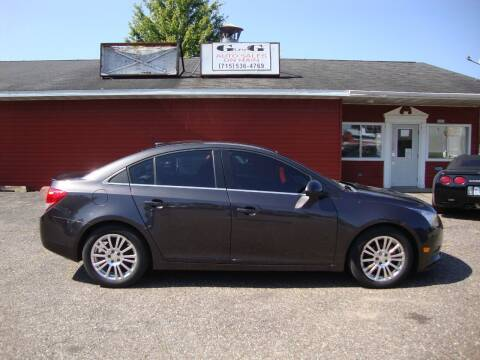 2014 Chevrolet Cruze for sale at G and G AUTO SALES in Merrill WI