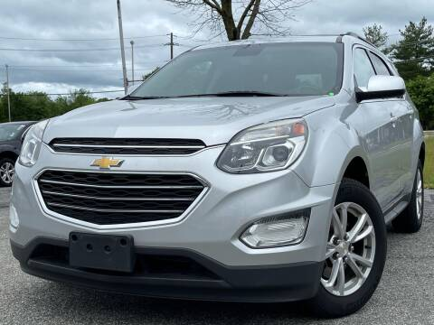 2016 Chevrolet Equinox for sale at MAGIC AUTO SALES in Little Ferry NJ