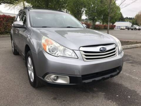 2011 Subaru Outback for sale at MJ Seattle Auto Sales in Kent WA