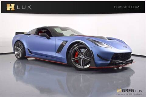 2016 Chevrolet Corvette for sale at HGREG LUX EXCLUSIVE MOTORCARS in Pompano Beach FL