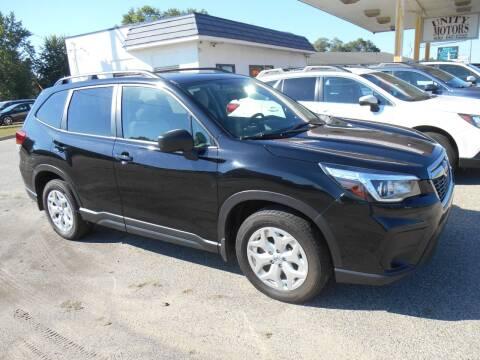 2019 Subaru Forester for sale at Unity Motors LLC in Jenison MI