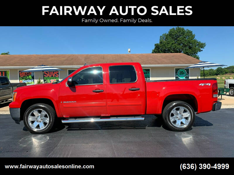 2009 GMC Sierra 1500 for sale at FAIRWAY AUTO SALES in Washington MO