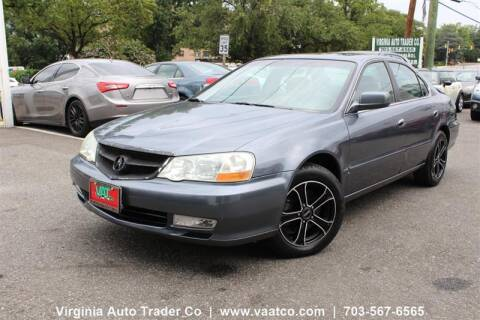 2003 Acura TL for sale at Virginia Auto Trader, Co. in Arlington VA