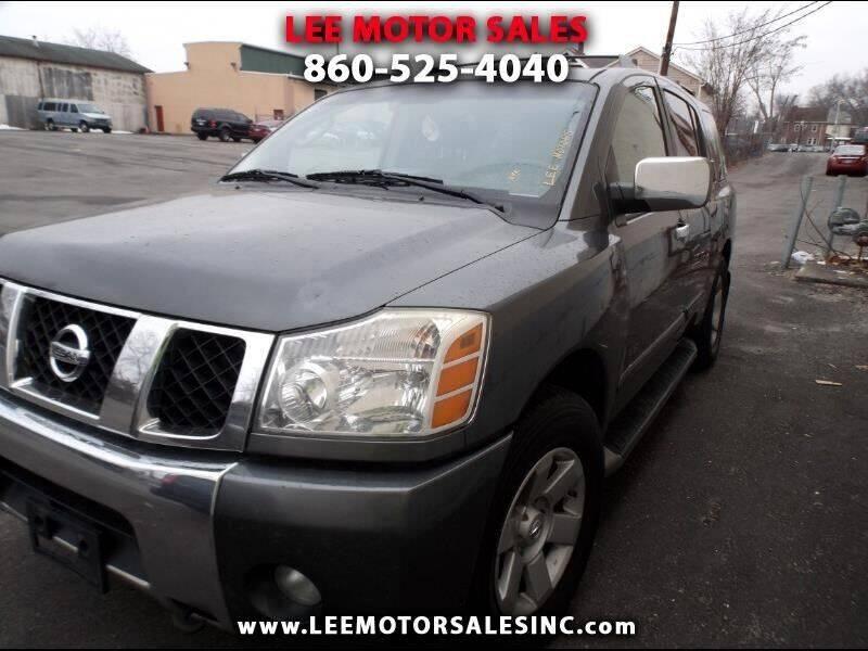 2005 Nissan Armada for sale at Lee Motor Sales Inc. in Hartford CT