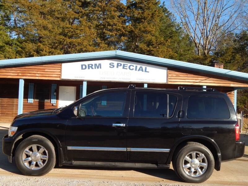 2007 Infiniti QX56 for sale at DRM Special Used Cars in Starkville MS