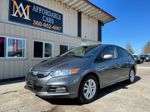 2013 Honda Insight for sale at M & A Affordable Cars in Vancouver WA