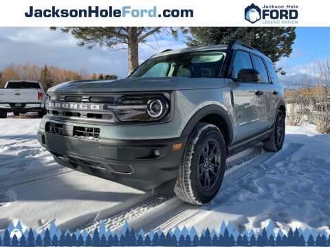 2021 Ford Bronco Sport for sale at Jackson Hole Ford of Alpine in Alpine WY