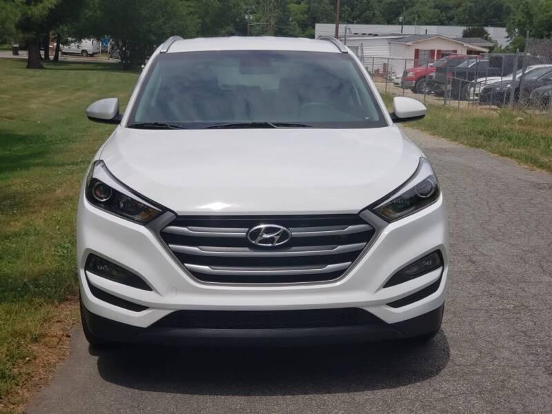 2018 Hyundai Tucson for sale at Speed Auto Mall in Greensboro NC