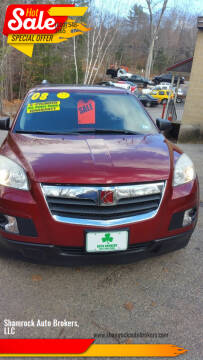 2008 Saturn Outlook for sale at Shamrock Auto Brokers, LLC in Belmont NH