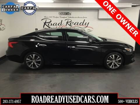 2016 Nissan Maxima for sale at Road Ready Used Cars in Ansonia CT