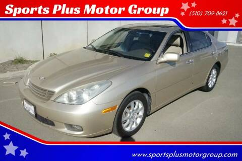 2004 Lexus ES 330 for sale at Sports Plus Motor Group LLC in Sunnyvale CA