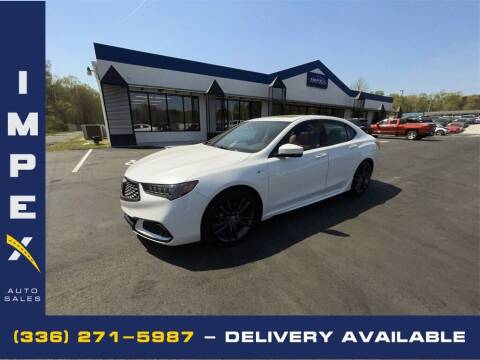 2020 Acura TLX for sale at Impex Auto Sales in Greensboro NC