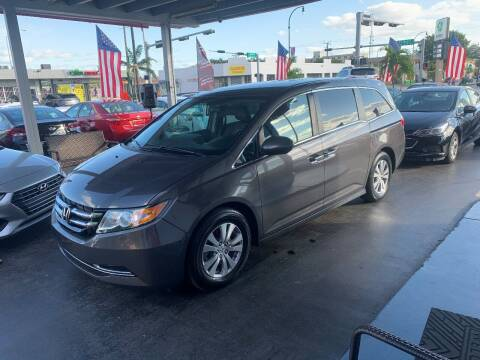 2016 Honda Odyssey for sale at American Auto Sales in Hialeah FL