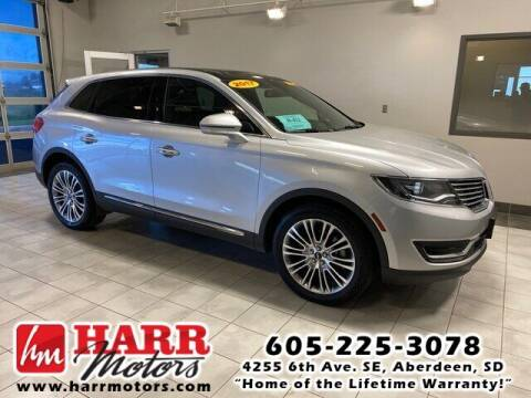2017 Lincoln MKX for sale at Harr Motors Bargain Center in Aberdeen SD