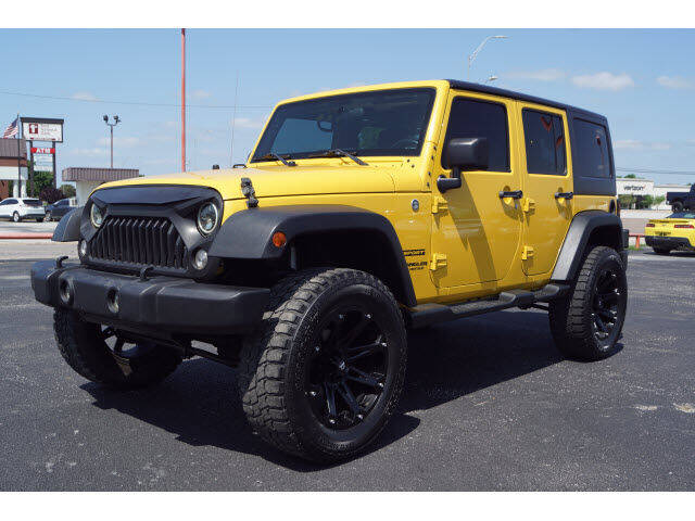 2015 Jeep Wrangler Unlimited for sale at Watson Auto Group in Fort Worth TX