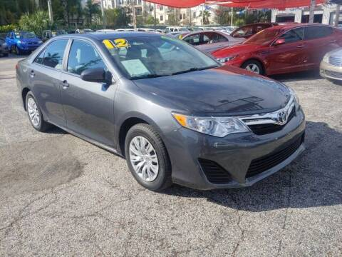 2012 Toyota Camry for sale at Brascar Auto Sales in Pompano Beach FL