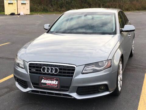 2011 Audi A4 for sale at Anamaks Motors LLC in Hudson NH