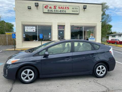 2013 Toyota Prius for sale at C & S SALES in Belton MO