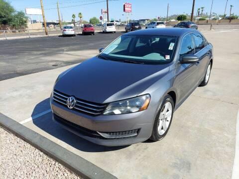 2014 Volkswagen Passat for sale at Century Auto Sales in Apache Junction AZ