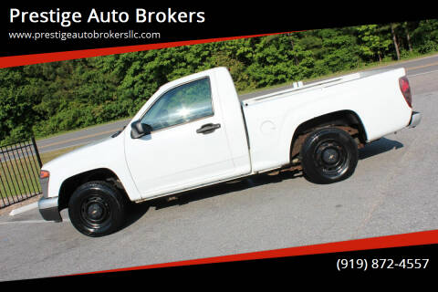 2005 Chevrolet Colorado for sale at Prestige Auto Brokers in Raleigh NC