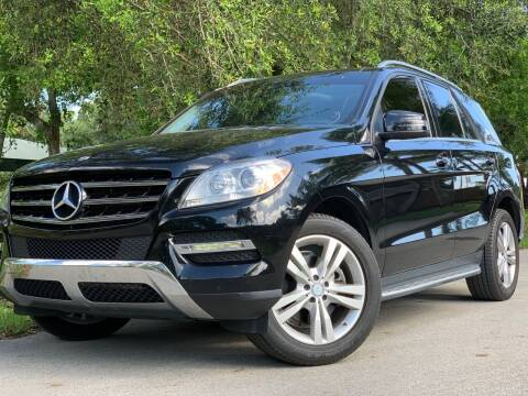 2014 Mercedes-Benz M-Class for sale at HIGH PERFORMANCE MOTORS in Hollywood FL