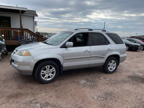 2004 Acura MDX for sale at PYRAMID MOTORS - Fountain Lot in Fountain CO