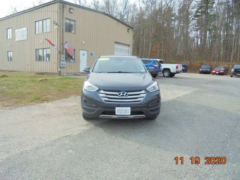 2015 Hyundai Santa Fe Sport for sale at Exclusive Auto Sales & Service in Windham NH