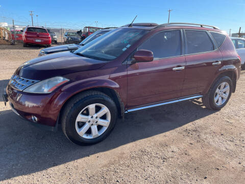 2006 Nissan Murano for sale at PYRAMID MOTORS - Fountain Lot in Fountain CO