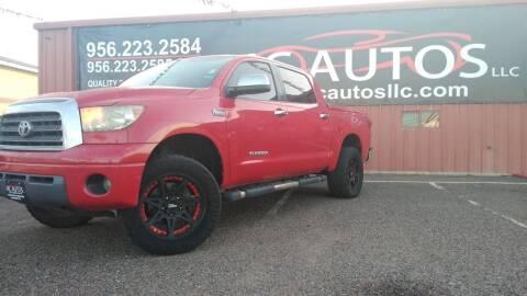 2007 Toyota Tundra for sale at MC Autos LLC in Pharr TX