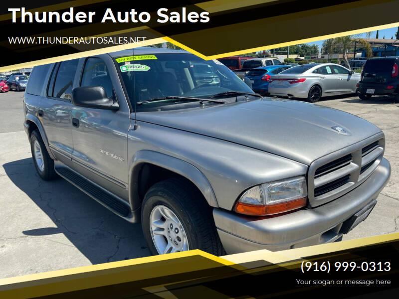 2001 Dodge Durango for sale in Sacramento, CA