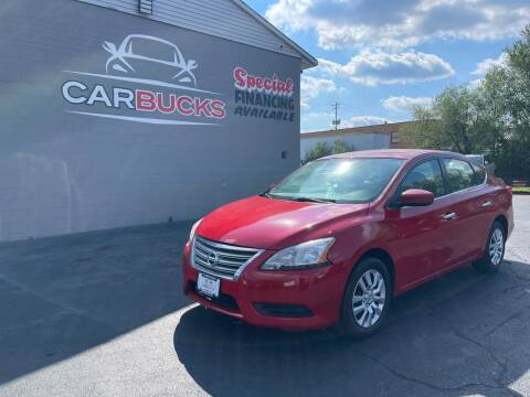 2017 Nissan Sentra for sale at Carbucks in Hamilton OH