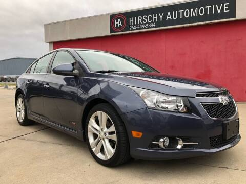 2014 Chevrolet Cruze for sale at Hirschy Automotive in Fort Wayne IN