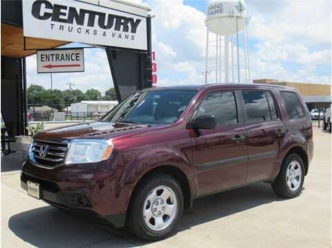 2015 Honda Pilot for sale at CENTURY TRUCKS & VANS in Grand Prairie TX