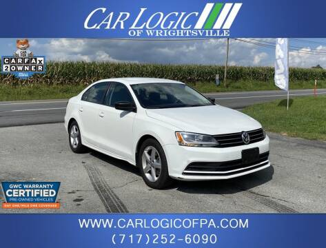 2016 Volkswagen Jetta for sale at Car Logic in Wrightsville PA