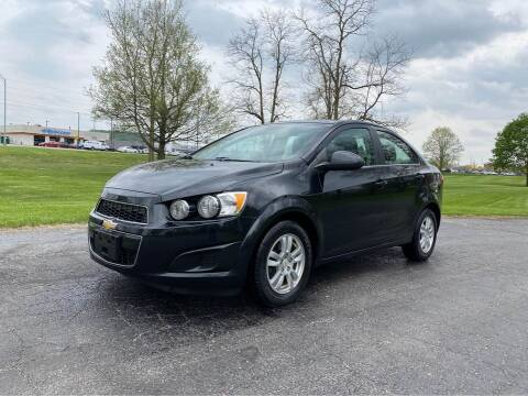 2013 Chevrolet Sonic for sale at Moundbuilders Motor Group in Heath OH