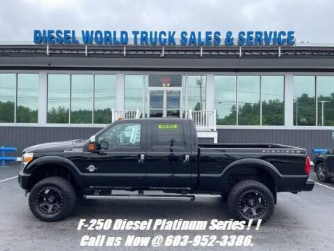 2016 Ford F-250 Super Duty for sale at Diesel World Truck Sales in Plaistow NH