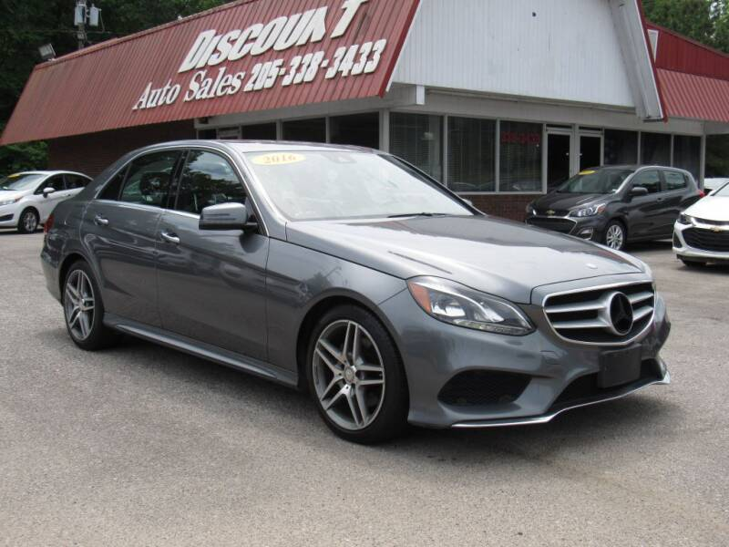 2016 Mercedes-Benz E-Class for sale at Discount Auto Sales in Pell City AL