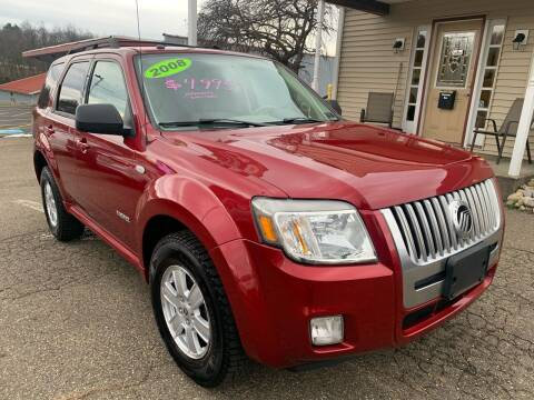 2008 Mercury Mariner for sale at G & G Auto Sales in Steubenville OH