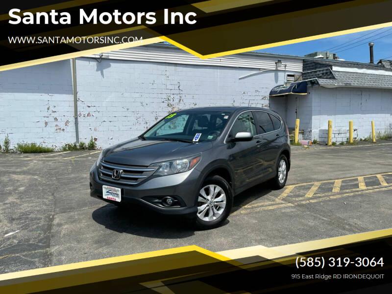2013 Honda CR-V for sale at Santa Motors Inc in Rochester NY