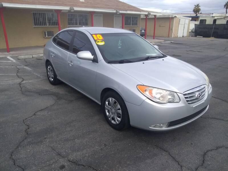2010 Hyundai Elantra for sale at Car Spot in Las Vegas NV