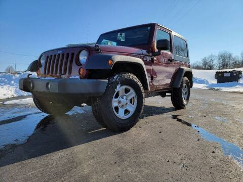2010 Jeep Wrangler for sale at Sinclair Auto Inc. in Pendleton IN