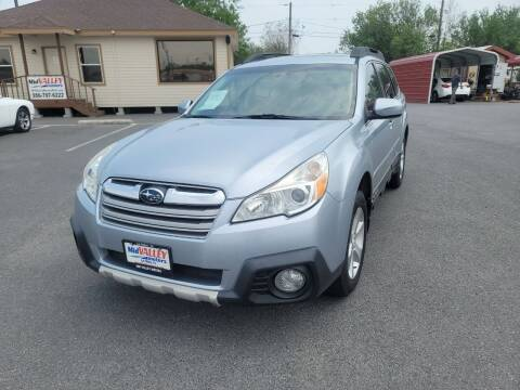 2013 Subaru Outback for sale at Mid Valley Motors in La Feria TX
