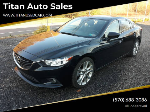 2015 Mazda MAZDA6 for sale at Titan Auto Sales in Berwick PA