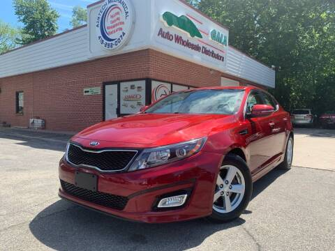 2015 Kia Optima for sale at GMA Automotive Wholesale in Toledo OH