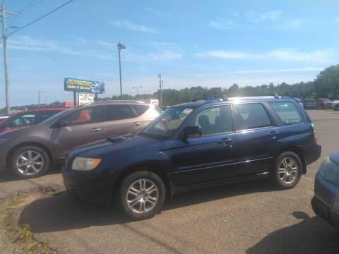 2006 Subaru Forester for sale at Superior Auto of Negaunee - Pepp Motors in Marquette MI