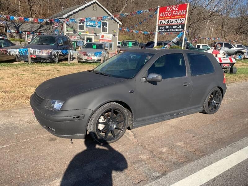 2004 Volkswagen GTI for sale at Korz Auto Farm in Kansas City KS