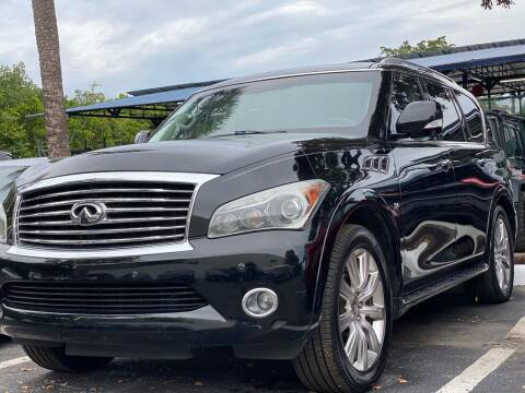 2014 Infiniti QX80 for sale at HIGH PERFORMANCE MOTORS in Hollywood FL