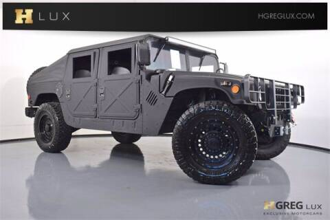 2009 HUMMER H1 for sale at HGREG LUX EXCLUSIVE MOTORCARS in Pompano Beach FL