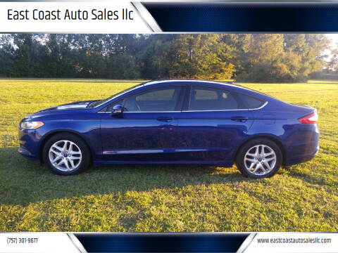 2016 Ford Fusion for sale at East Coast Auto Sales llc in Virginia Beach VA